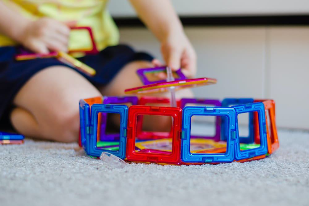 are magnetic toys safe for toddlers