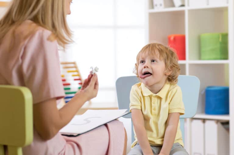 samples of early intervention speech therapy activities