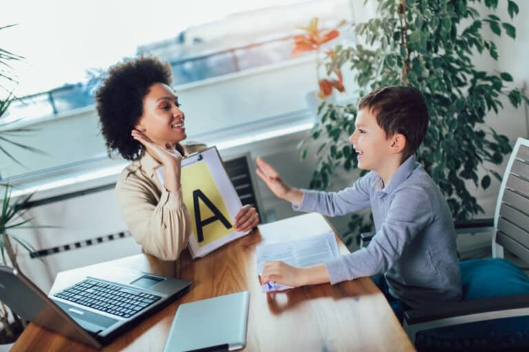 how many speech therapy sessions per week